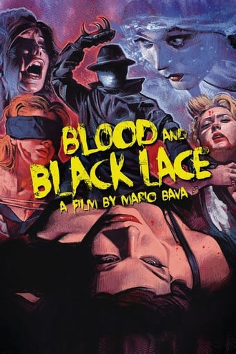 Poster of Blood and Black Lace