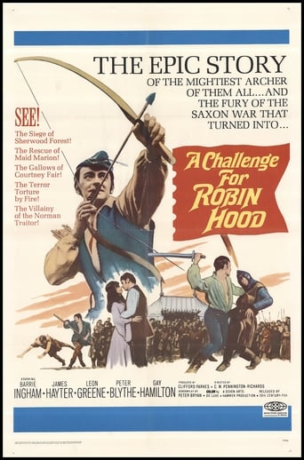 Poster of A Challenge for Robin Hood