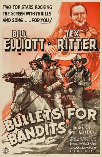 Poster of Bullets for Bandits