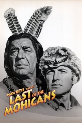 Poster of Hawkeye and the Last of the Mohicans