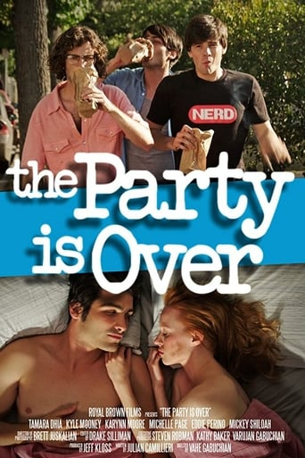 Poster of The Party Is Over