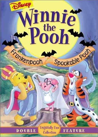Winnie the Pooh - Frankenpooh and Spookable Pooh poster