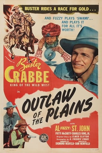 Poster of Outlaws of the Plains