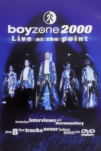 Poster of Boyzone: 2000 Live at the Point