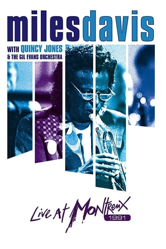 Poster of Miles Davis with Quincy Jones and the Gil Evans Orchestra: Live at Montreux 1991