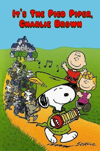 Poster of It's the Pied Piper, Charlie Brown