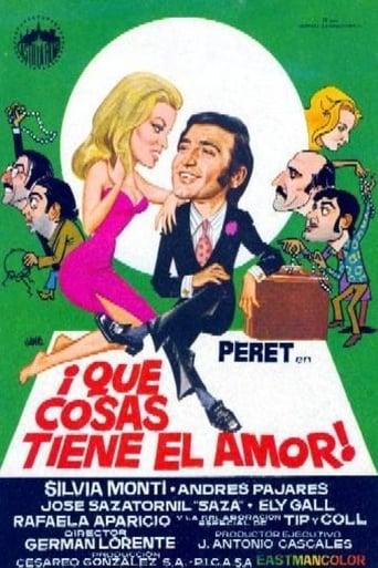 Poster of ¡Qué cosas tiene el amor!