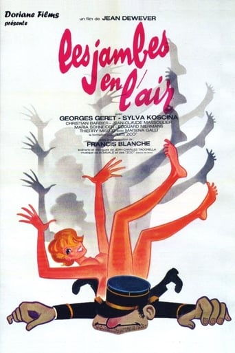 Poster of Les jambes en l'air