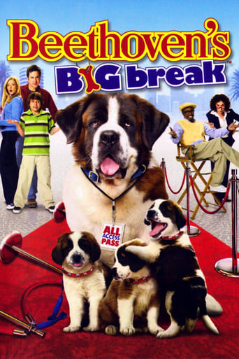 Poster of Beethoven's Big Break