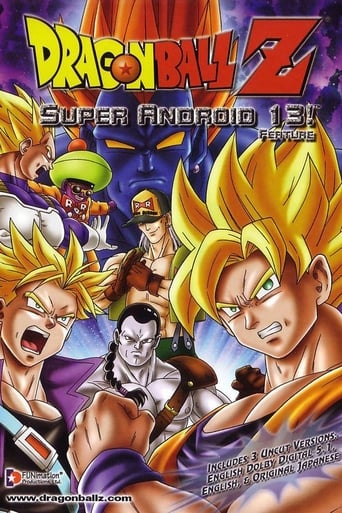 Poster of Dragon Ball Z: Super Android 13