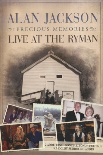 Poster of Alan Jackson - Precious Memories: Live at the Ryman
