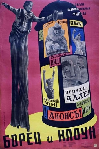 Poster of The Wrestler and the Clown