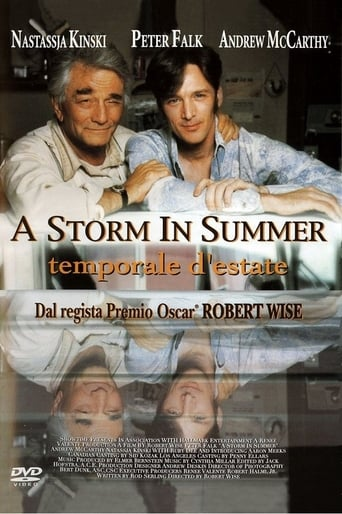 A Storm in Summer poster