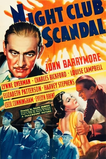 Poster of Night Club Scandal