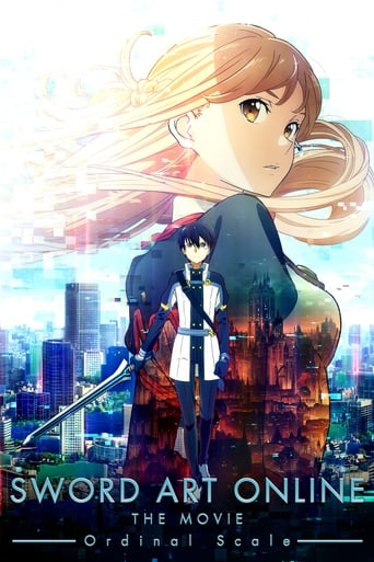 Poster of Sword Art Online The Movie: Ordinal Scale