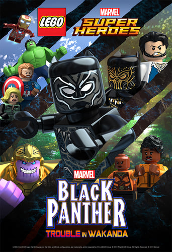 Poster of LEGO Marvel Super Heroes: Black Panther - Trouble in Wakanda