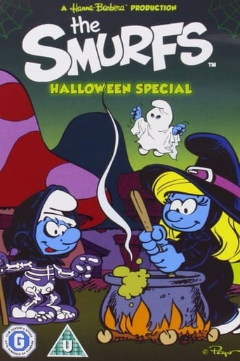Poster of The Smurfs Halloween Special