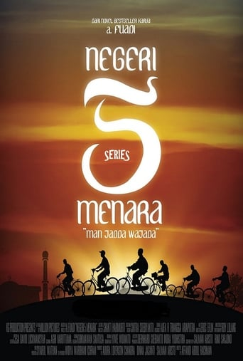 Poster of Negeri 5 Menara: The Series