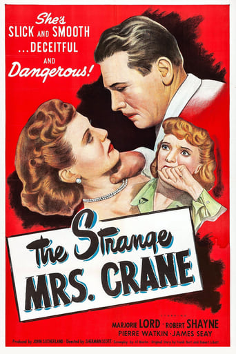 Poster of The Strange Mrs. Crane