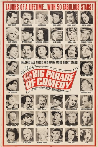 Poster of The Big Parade of Comedy