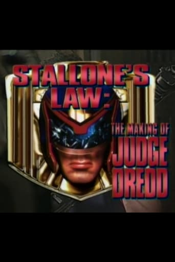 Poster of Stallone's Law: The Making of 'Judge Dredd'
