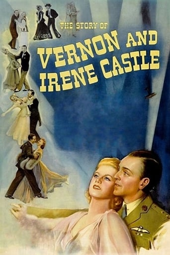 Poster of The Story of Vernon and Irene Castle