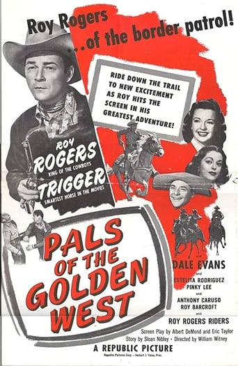 Poster of Pals of the Golden West