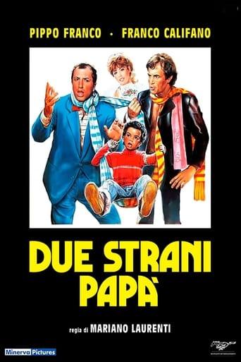 Poster of Due strani papà