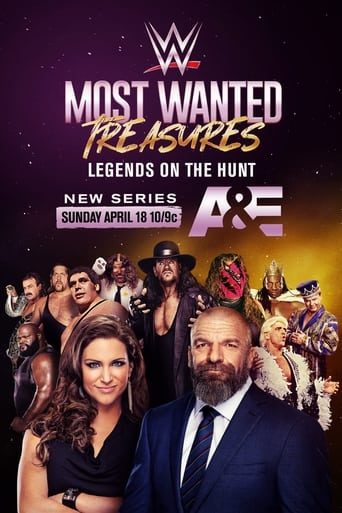 Poster of WWE's Most Wanted Treasures