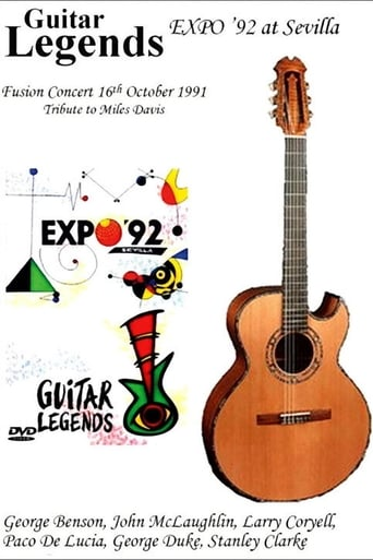 Poster of Guitar Legends EXPO '92 at Sevilla - The Fusion Night