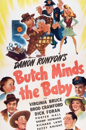 Poster of Butch Minds the Baby