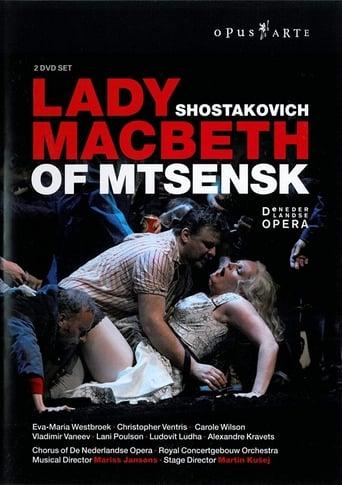 Poster of Shostakovich: Lady Macbeth of Mtsensk