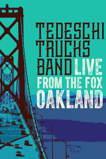 Poster of Tedeschi Trucks Band - Live from the Fox Oakland