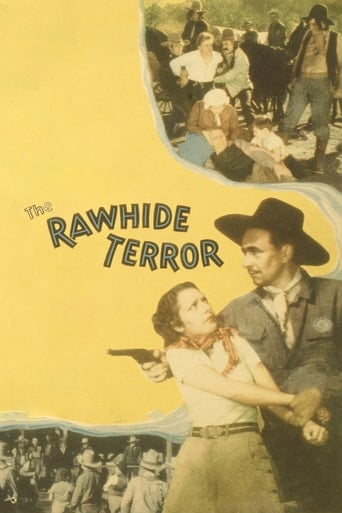 Poster of The Rawhide Terror