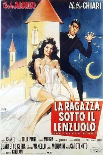 Poster of La ragazza sotto il lenzuolo