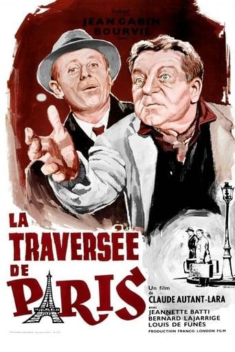 Poster of Napříč Paříží