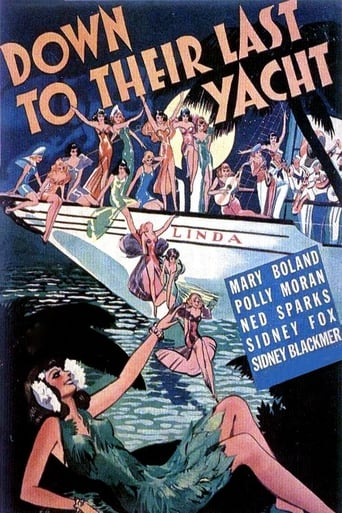 Poster of Down to Their Last Yacht