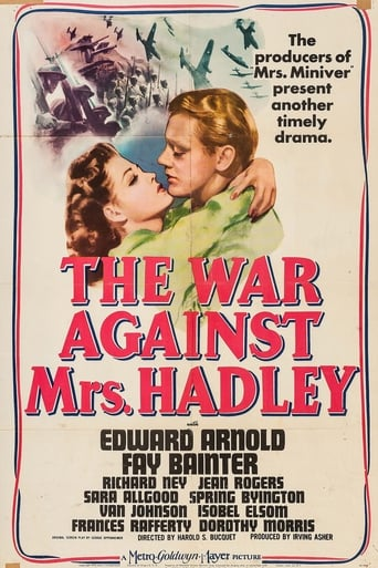 Poster of The War Against Mrs. Hadley