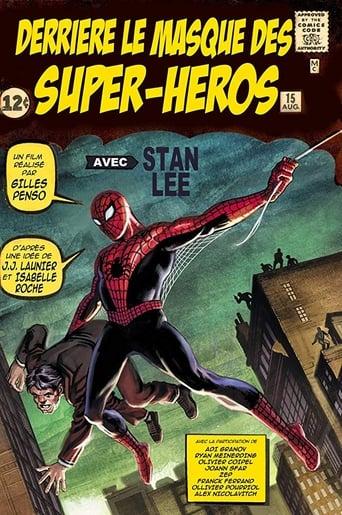 Behind the Superhero Mask poster