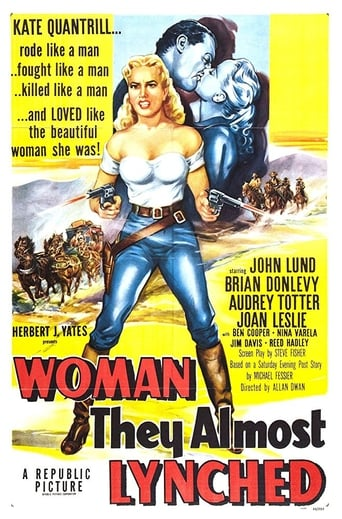 Poster of Woman They Almost Lynched