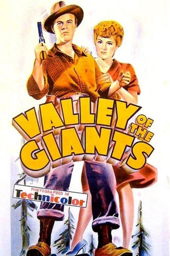 Poster of Valley of the Giants