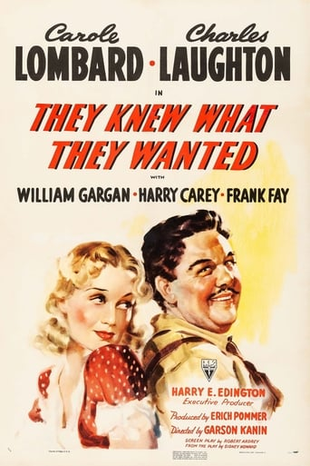 Poster of They Knew What They Wanted
