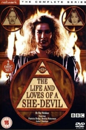 Poster of The Life and Loves of a She-Devil