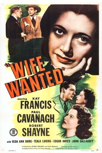 Poster of Wife Wanted