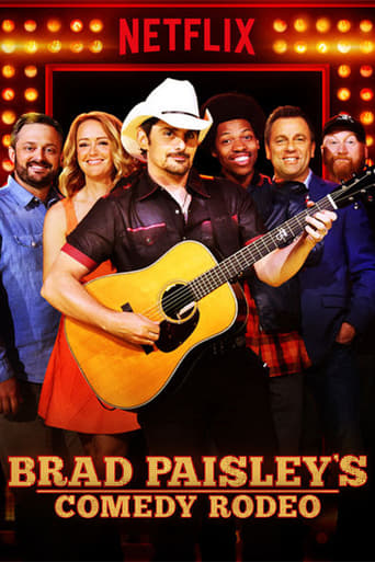 Poster of Brad Paisley's Comedy Rodeo