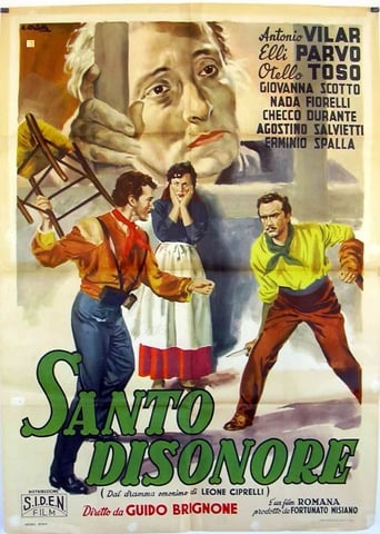 Poster of Santo disonore