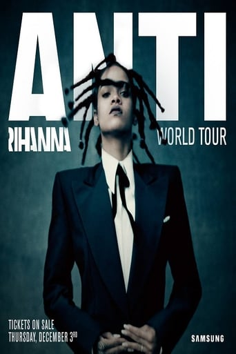 Poster of Rihanna - Anti World Tour