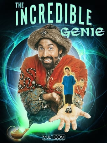 Poster of The Incredible Genie