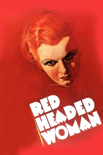 Poster of Red-Headed Woman