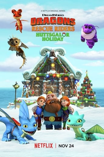 Poster of Dragons: Rescue Riders: Huttsgalor Holiday